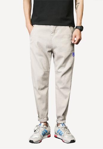 hk-ehunter grey Men's Casual Pant BDAF0AA0C59CE0GS_1