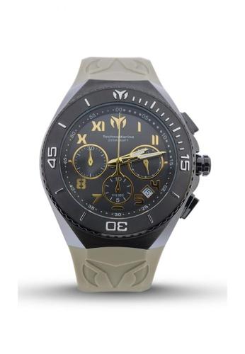 TECHNOMARINE grey TechnoMarine Ocean Manta 48mm 215073 TE052AC85HBMPH_1