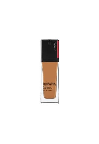 SHISEIDO Shiseido Makeup Synchro Skin Radiant Lifting Foundation - 420 Bronze 6BC15BEC814629GS_1