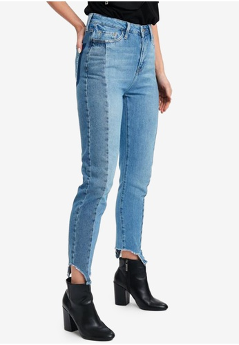 LC Waikiki blue High Waist Slim Jeans 6CEB5AA60B55D1GS_1