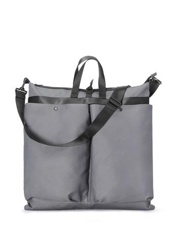 London Rag grey London Rag Men'sCharcoal Travelling Bag BG5239 LO360AC0GS8BSG_1