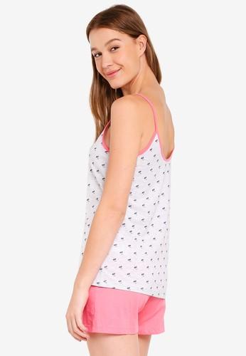 Jual OVS Printed Pyjama Set Original