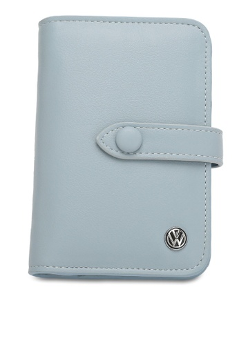Volkswagen blue Faux Leather Wallet B6AF3ACA229B4BGS_1