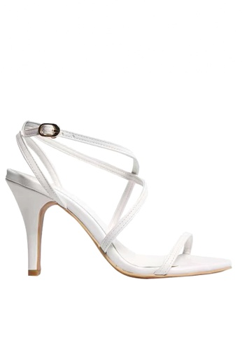 Twenty Eight Shoes white Strappy Heel Sandals VS1910 TW446SH88DLBHK_1