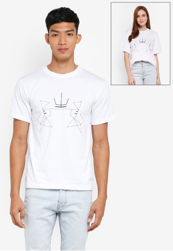Klozet Kuala Lumpur white Identimetry T-Shirt (Johor) KL475AA0SRMNMY_1