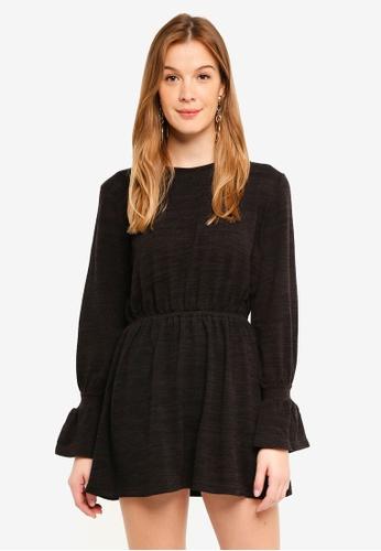 The Fifth Label black Flute Dress 0686EAA4F77D4BGS_1