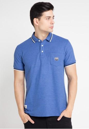 SHARKS blue Polo Shirt SH473AA0WP12ID_1