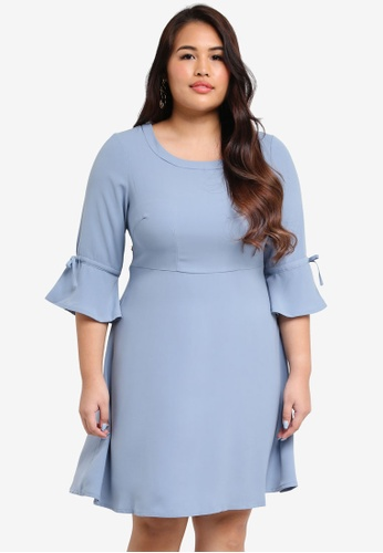 Junarose blue Plus Size Inese Dress 5A20AAA8B28BC6GS_1