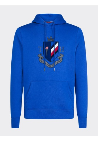 Tommy Hilfiger PURE COTTON CREST HOODY 69EB9AA470A5D8GS_1