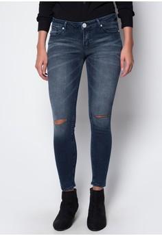 Modified Basic 5 Pocket Denim St. Skinny Low Waist Pants
