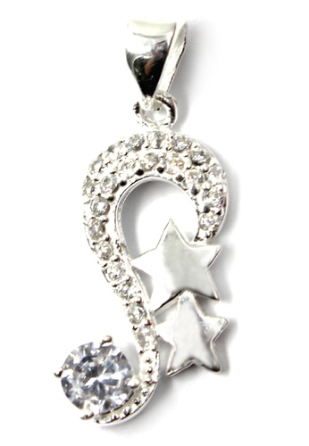 Venice Jewelry silver Crystallized Star Pendant VE564AC36ZFNPH_1