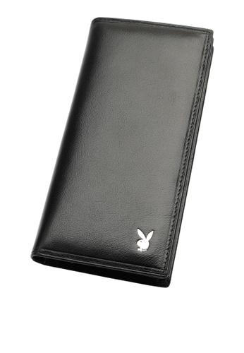 Playboy black Long Wallet 128A3ACB244B44GS_1