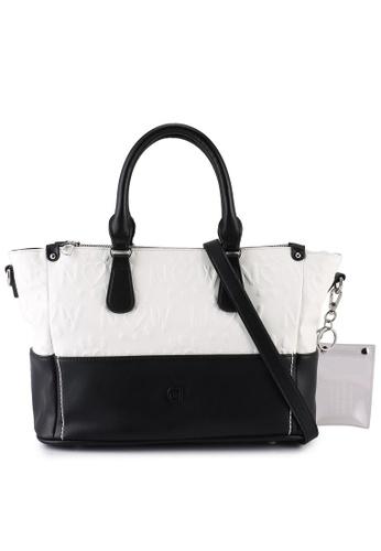 Desigual white Casual Hand Bag A51C4AC315D93CGS_1