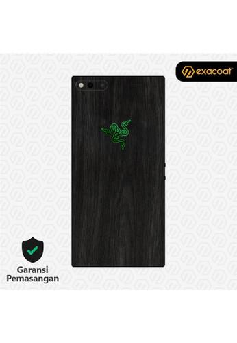 Exacoat Razer Phone 3M Skins Wood Ebony - Cut Only 4F5C2ESA02EDF7GS_1