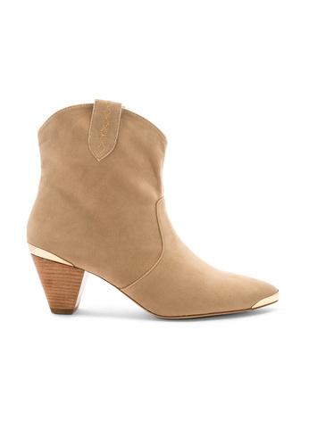 Raye brown and beige Eliana Bootie 82DEFSHF5E4772GS_1