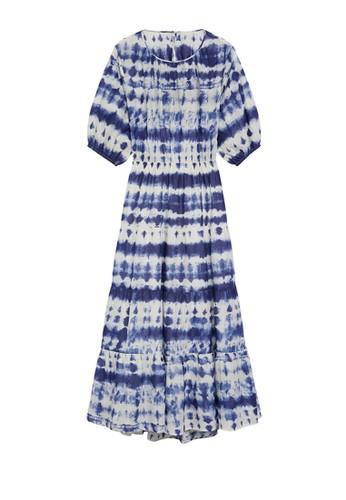 Mango blue Tie-Dye Print Dress 7C734AAB782203GS_1