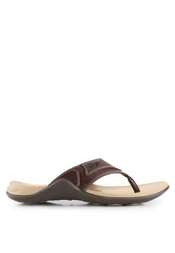 Homyped brown Subaru 01 Men Sandals HO842SH76SOPID_1