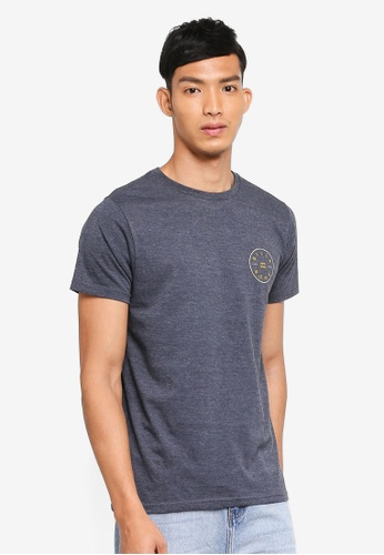 Billabong blue Rotor Tee DDD64AAFAA21B9GS_1
