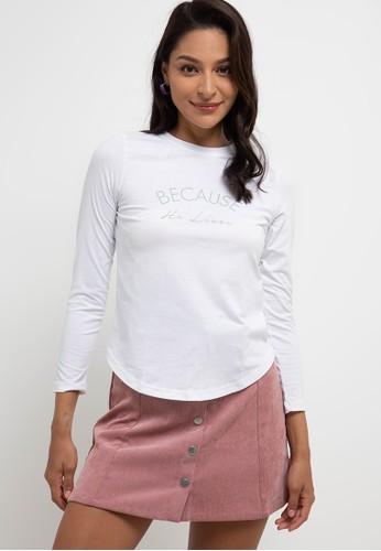 Exit white Delania T-Shirt 9E70DAABE519C4GS_1