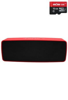 Stereo Bluetooth Speaker with FREE 16gb microSD card Class10