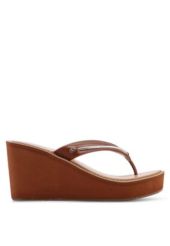 ALDO 褐色 Sobrylla 楔型鞋 E4451SH1B15C11GS_1