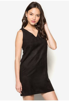 Textured Structure Shift Dress