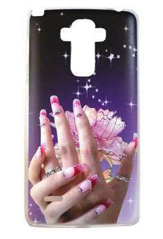 LG G4 Stylus Elegant Hand Design Hard Case