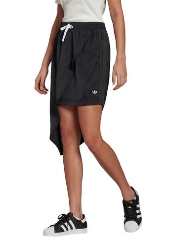 ADIDAS 黑色 trefoil skirt DCF99AAC93A949GS_1