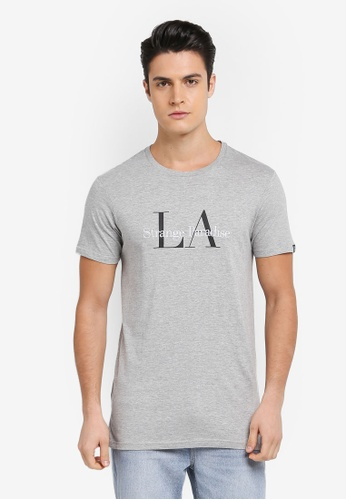 Cotton On grey Longline Droptail Tee 261A9AA0EA319FGS_1