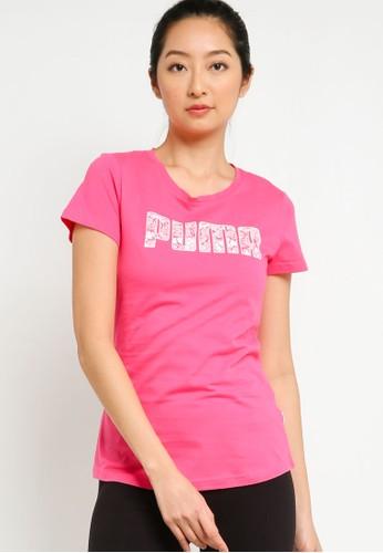 PUMA pink Ka Women's Tee 03179AA428365EGS_1