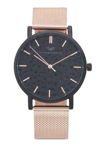 Victoria Walls Watches gold Designer Watch With Mesh Strap AF965AC594025BGS_1