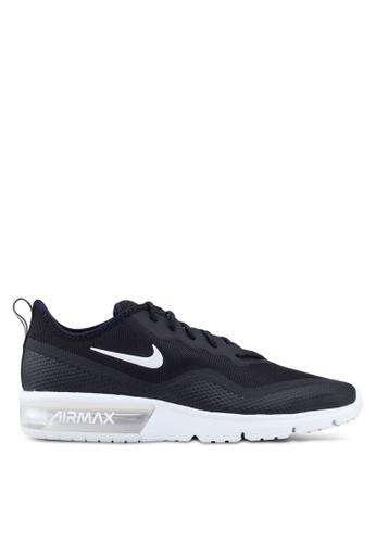 Nike black Nike Air Max Sequent 4.5 Shoes 95F1DSHBC33592GS_1