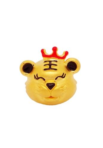LITZ gold [Free Bracelet] LITZ 999 (24K) Gold Zodiac Tiger Charm EPC0847 8D4DFAC7853358GS_1