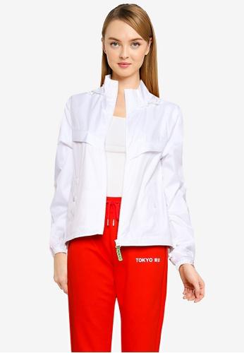 LC Waikiki white Lightweight Short Jacket With Hood F7796AA281B7EFGS_1