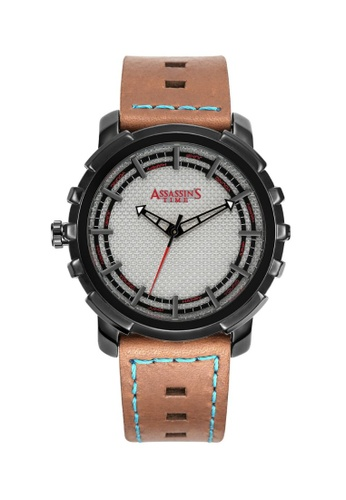 Assassin's Time brown Assassin's Time ALMEC Brown Leather 65E33ACAA36128GS_1