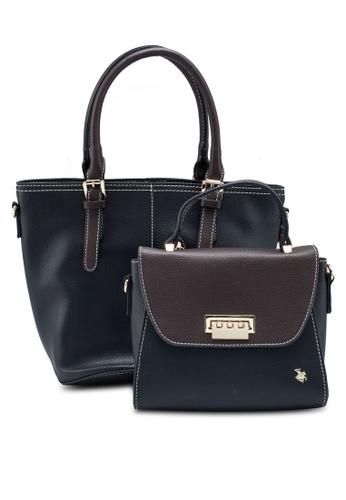 Swiss Polo black 2 In 1 Ladies Handbag 1AAAAAC53DAFE1GS_1