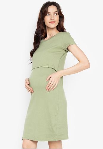 6abefe69b59 Shop BUNTIS Ema Nursing Maternity Dress Online on ZALORA Philippines