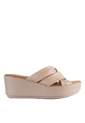 Hush Puppies beige Hush Puppies TARA CROSS In Taupe HU319SH0H9DZSG_1