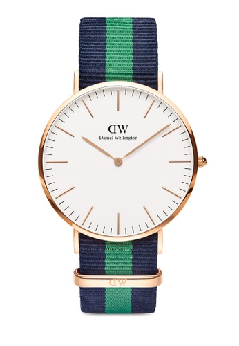 Daniel Wellington gold Classic Warwick 40mm Rose Gold Watch 53D2AAC2D48B88GS_1