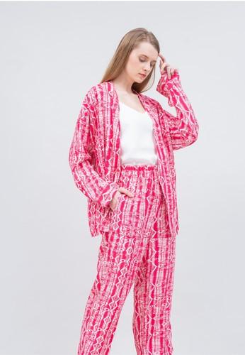 Kai Essentials pink Kai Essentials Azura Outer Set Pink 3B412AA30E4056GS_1