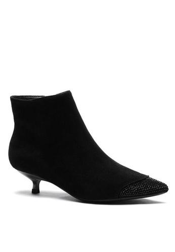 Twenty Eight Shoes 羊猄布踝靴1592-9 43A69SH7EB08FDGS_1