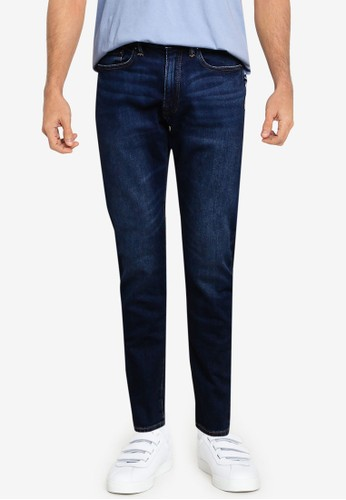 GAP navy Slim Taper Vintage Dark Jeans C604CAA5F6C550GS_1
