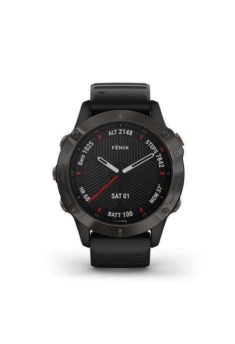 Garmin fēnix® 6 Sapphire Carbon Gray DLC