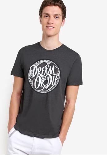 Dream Or zalora 評價Die Graphic Tee, 服飾, T恤