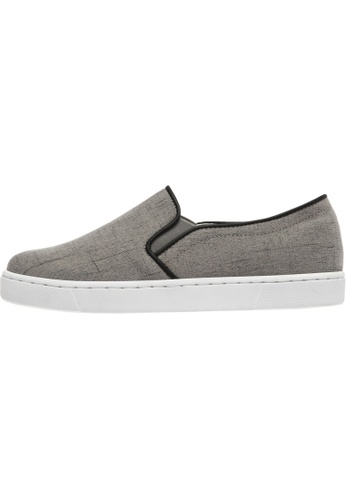 paperplanes Paperplanes-1373 Fabric Tall Up Casual Slip-Ons Shoes US Women Size PA110SH60ZMPHK_1