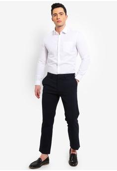 0a0882c0194 Burton Menswear London White Slim Fit Essential Shirt With Pocket RM  109.00. Sizes XS M XL