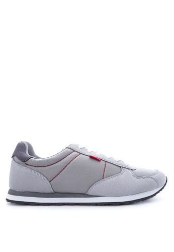 Levi's grey Eagle Running Sneakers LE892SH41PSGPH_1