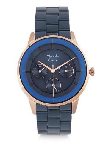 Alexandre Christie blue Alexandre Christie Jam Tangan Wanita - Blue Rosegold - Stainless Steel - 2714 BFBURBU 3A459AC3F7569CGS_1