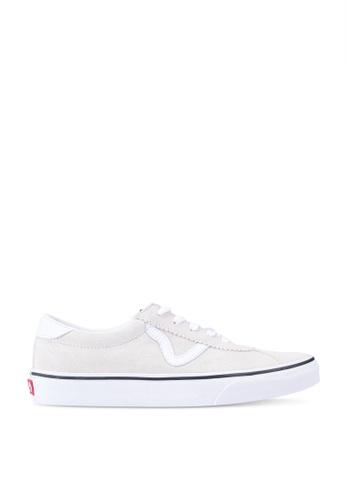 VANS white VANS Sport Suede Sneakers 6E8EESH11C40B5GS_1