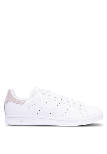 adidas white adidas originals stan smith w AB309SH75D10F0GS_1